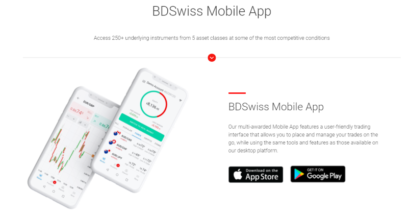 BDSwiss Mobile App
