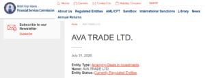 Avatrade Regulation